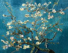 The Blossoming Almond Tree painting by Vincent Van Gogh is a rare desolate bloom that is frozen in time. Classic icons of lilies, sunflowers and melting clocks dominate the art world of Van Gogh in this painting. Van Gogh Pinturas, Vincent Van Gogh, Van Gogh Museum, Art Museum, Fleurs Van Gogh, Desenhos Van Gogh, Van Gogh Almond Blossom, Canvas Wall Art, Canvas Prints