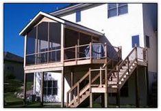 10 Amazing Screen Porch Images Decks Porches Four