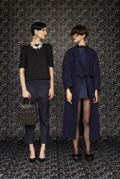 A look from the Louis Vuitton Women's Prefall 2013 collection. Click to see them all.  good