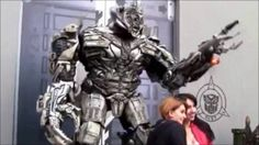 Real #Transformers Caught on Camera Watch this Amazing Transformers Interacting With Humans