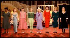 """8 femmes"" by François Ozon (2002) - Firmine Richard, Isabelle Huppert, Virginie Ledoyen, Ludivine Sagnier, Danielle Darrieux, Fanny Ardant, Catherine Deneuve, Emmanuelle Béart"