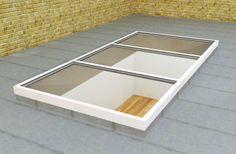 Low Lying Slim Flat RoofLights