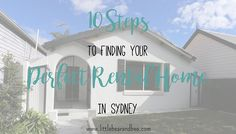 How to find a rental home in Sydney. Describes Australia's 100 point system, everything you'll need for your rental application, when it's best to look, how to schedule an inspection and what fees to expect.