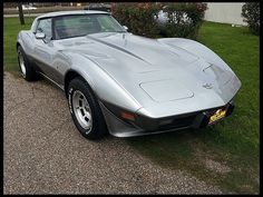 1978 Silver anniversary Corvette for Sale @ Mecum Houston Texas 4-10-12