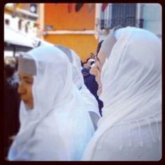 Hasta las monjas se divierten. Villena Medieval 2014 Barrio El Rabal Villena  #VillenaMedieval14 @elrabalvillena  #VillenaMedieval #villena #SMTurismo