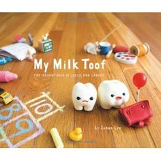 My Milk Toof - When two baby teeth came knocking at her door, artist Inhae Lee did what anyone would do: she invited them to live with her and started photographing their hilarious, miniature antics.  This looks adorable!