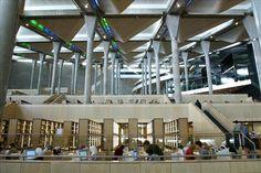 The Bibliotheca Alexandrina. Alexandria, Egypt. The Main Reading Hall.