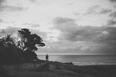 Amonne & Simon Bethells Beach Auckland [Destination wedding photographer]