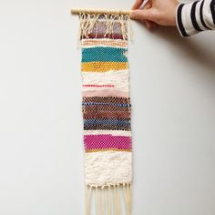 weaving for wall texture