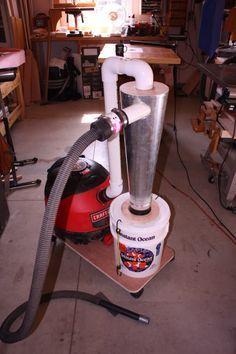 DIY Cyclone Dust Collector - by SimonSKL @ LumberJocks.com ~ woodworking community
