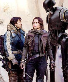 "Channel Star Wars on Twitter: ""Cassian Andor, Jyn Erso and K-2SO #RogueOne #AStarWarsStory #StarWars #RogueOneAStarWarsStory #ChannelStarWars https://t.co/viUNowXMFW"""