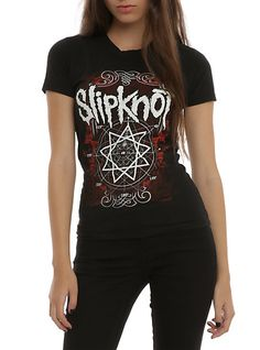 Slipknot Nonagram Girls T-Shirt | Hot Topic
