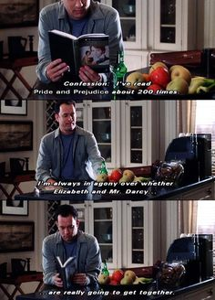 You've got mail...don't worry Tom Hanks, I have the same reaction to trying read Pride and Prejudice