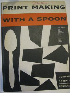 Vintage 1960 book on printmaking. Cool retro by KelleyArtandFrame, $10.00