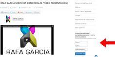 Apartado de Subscripciones gratuitas a la web de Rafa García Servicios Comerciales