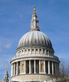 St. Paul's Cathedral, London. Dome.