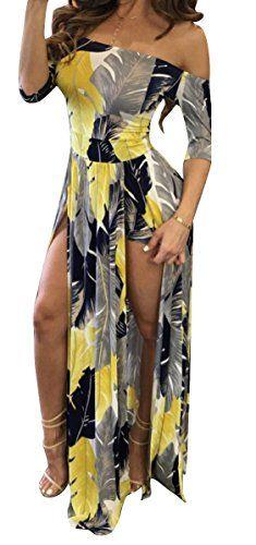 f7817240c96 Jiujiuyi Women s Long Sleeve Floral Print Blouson Wide Leg Jumpsuit  Playsuit (Small