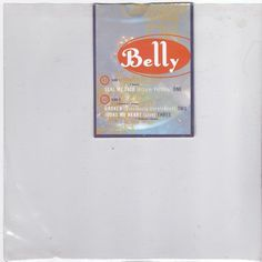 """Belly - Seal My Fate, 7"""" clear vinyl, numbered, 4AD records, Tanya Donelly #vinyl"""