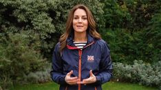 Kate Middleton makes appearance to wish good luck to Sir Ben Ainslie's sailing team | HELLO! Good Luck Wishes, Beulah London, Black Lace Lingerie, Nautical Looks, Beauty Treats, Kate Middleton Style, Belstaff, Sporty Look, Princess Kate