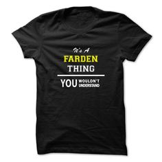 [New last name t shirt] Its a FARDEN thing you wouldnt understand  Coupon 15%  Hey FARDEN you might be tired of having to explain yourself. With this T-Shirt you no longer have to. Get yours TODAY!  Tshirt Guys Lady Hodie  SHARE and Get Discount Today Order now before we SELL OUT  Camping a farden thing you wouldnt understand last name