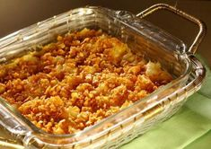 sweet southern potato casserole
