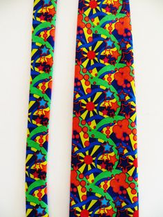 Ralph Marlin Necktie, Austin Powers, Psycedelic Images, Psychedelic, Pop Art, Novelty Necktie, Mint, Unused, Casual Friday, Gift for Him by TomCatBazaar on Etsy