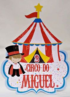 Carnival Crafts, Circus Carnival Party, Carnival Birthday Parties, Carnival Themes, Circus Birthday, Circus Theme, Birthday Decorations, Boy Birthday, Party Themes