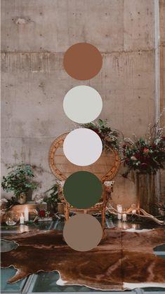 Colour Pallette, Color Palate, Colour Schemes, Room Colors, House Colors, Colours, Decoration Evenementielle, Cement Color, Color Inspiration