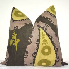 BOTH SIDES  Pillow Cover  Decorative Pillow  Throw by kyoozi, $41.00