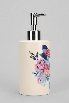 Floral Soap Dispenser