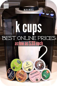 Love your Keurig? Hate paying for those expensive K-Cups? Here is a round up of the best online prices for cheap k cups - as low as $.33 each.