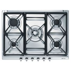 Smeg Stainless Steel Gas Hob (W)685mm