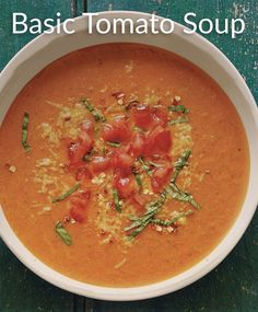Try our 2 SmartPoints® take on a classic Tomato Soup.