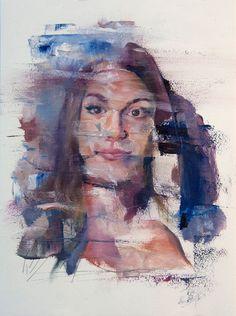 La interesante pintura expresionista de Adam Lupton