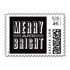 SO RETRO   HOLIDAY POSTAGE  #Christmas #xmas #stamps  http://www.zazzle.com/so_retro_holiday_postage-172430993705660918?rf=238194283948490074&tc=Pin