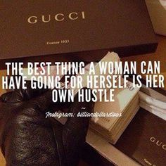 Her own hustle