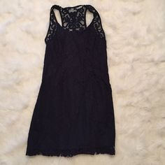Navy Blue A&F Lace Dress Brand new Abercrombie & Fitch Dresses
