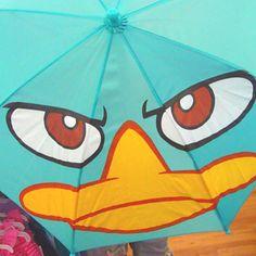 Perry Platypus umbrella