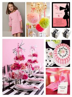 girl birthday party ideas | Pink Party Ideas For Girls | Trends4Ever.Com