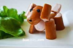 This could be a really fun way for kids to eat hot dogs!