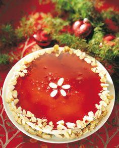 Glögi-juustotorttu | Joulu | Pirkka  #food #christmas #joulu Nordic Christmas, Christmas Kitchen, Merry Christmas, Finnish Recipes, Cheese Tarts, Sweet Recipes, Yummy Recipes, Margarita, Tiramisu