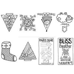 New Mini Coloring Books | Adult Coloring Pages | Pinterest ...