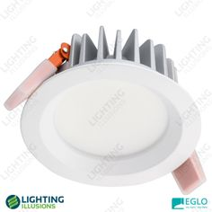 Anodised Aluminium - Warm White Eglo Bruno LED Dimmable High Output Fixed Downlight Thing 1, Light Beam, Shop Lighting, Light Fittings, Downlights, Neutral, Led, Illusions, Warm