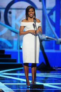 Michelle Obama at 2015 Black Girls Rock Awards Show: http://www.averagesocialite.com/2014/12/2015-black-girls-rock-awards-show-march.html