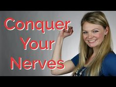 Conquer your nerves for the big interview or networking event!