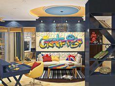 Дизайн интерьера квартиры, детской комнаты, подробнее http://www.artbox-studio.com/#!dizain-interiera-kvartiri-foto/c1o04