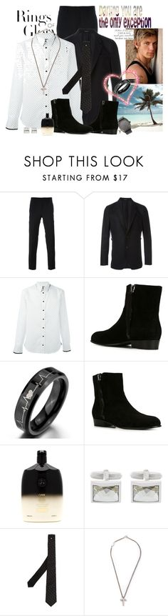 """""""Will you Marry Me?"""" by princeoftyre ❤ liked on Polyvore featuring Tiffany & Co., Alexander McQueen, Giuseppe Zanotti, Oribe, Lanvin, Givenchy, Yves Saint Laurent, Christian Koban, men's fashion and menswear"""