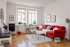 Selección de apartamentos en Gotemburgo de estilo nórdico