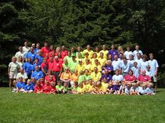 Probably the most colorful family reunion ever. Thinking this would be fun for the next Crook reunion!