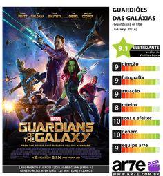 Notas para Guardiões das Galáxias, da filme da Marvel.  Quer mais reviews e novidade? Acesse AR7E.com.br!